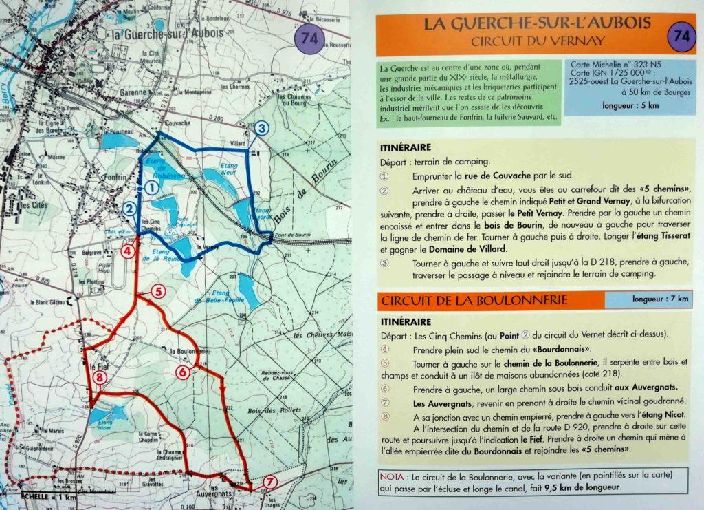 Circuit du Verney La Boulonnerie La Guerche sur l'Aubois